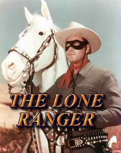 From the it's The Lone Ranger & his horse, Silver. Hi-yo Silver, away! Clayton Moore was The Lone Ranger and Jay Silverheels played his Indian sidekick, Tonto. Tonto's horse was named Scout. Tv Westerns, Mejores Series Tv, The Lone Ranger, Old Shows, Vintage Tv, My Childhood Memories, Sweet Memories, Early Childhood, Tv Commercials