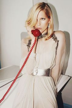 {fashion inspiration | editorial : iselin steiro by glen luchford for vogue paris}