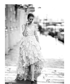 For luxury photo shoots in Paris were chosen incredible beauty dress Haute Couture collections from Armani Prive, Schiaparelli, Valentino, Atelier Versace,