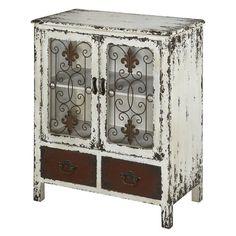 Mathilde Console. Love the iron doors
