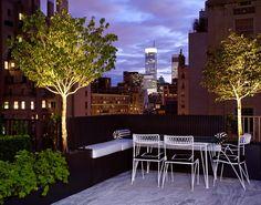 Balkon - Balcony - Dakterras - Roof Terrace - City -