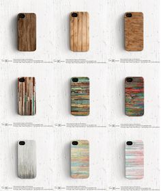 Colorful iPhone 5 case Rainbow iPhone 5s case Wood by TonCase
