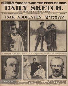 Bestofpicture.com - Images: Abdication Of Czar Nicholas Ii
