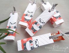 Kreativ Blog by Claudi: Goodies mit den Party Pandas