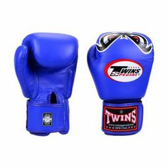 Twins Special Boxing Gloves No Fear (Blue)