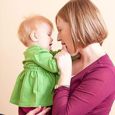 Activities to Enhance Baby's Emotional Development: 6-9 Months: Look Into Baby's Eyes (via Parents.com)