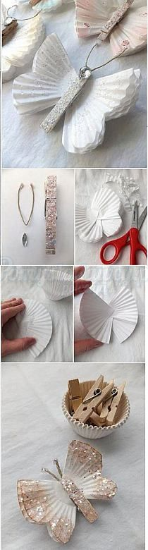 Everyone deserves a perfect world! Fall Crafts, Diy And Crafts, Christmas Crafts, Crafts For Kids, Arts And Crafts, Origami, Insect Activities, Ideias Diy, Barrettes