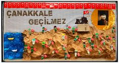 18 Mart Çanakkale Zaferi Diy And Crafts, Crafts For Kids, Arts And Crafts, Color Crafts, Teaching English, Pre School, Preschool Activities, Art Lessons, Martini