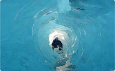 Cueva en el Glaciar Perito Moreno