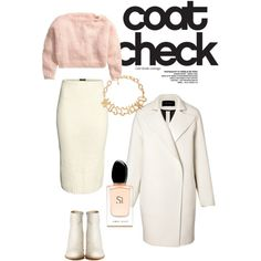 A fashion look from December 2014 featuring H&M sweaters, Cédric Charlier coats and H&M skirts. Browse and shop related looks. Check Coat, December 2014, Fashion Looks, Coats, Skirts, Polyvore, Sweaters, Shopping, Skirt