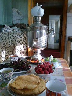 russian tea-time