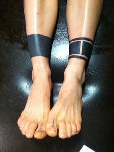 ankle line tattoo - Google Search