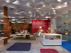 Herman Miller flagship store by Torafu Architects, Tokyo store design