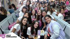 El viaje del #lilaF17 arrancó con una celebración. Feliz cumple Mili! Comenzó la magia de #e15 en #disney