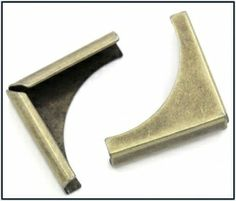 Boekhoekje brons 5mm  NIEUW