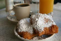 Café du Monde, New Orleans. Best  beignets ever!