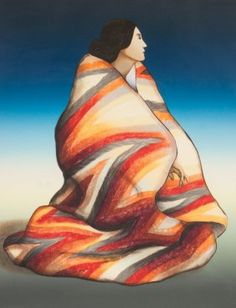 Navajo artist R. Gorman original lithographs for the year Woman From Taos, Lightning Blanket, Virginia's Kitty, Woman with Oranges Native American Pictures, Native American Artwork, Native American Artists, American Indian Art, Navajo Art, Southwestern Art, Desert Art, Indigenous Art, Mexican Art