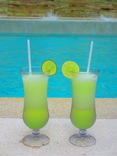 The famous Electric Lemonade drink recipe from #SecretsResorts. @Ashley Walters Bostic