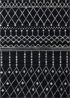 White Area Rug, Beige Area Rugs, Black And Grey Rugs, Gray, Loom Craft, Black Weave, Farmhouse Rugs, Power Loom, Hand Weaving