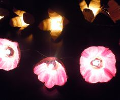Today, I thought it would be fun to give you instructions on how to make a string of flower lights out of empty egg cartons. This project is pretty si...