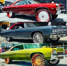 Old American Cars, American Muscle Cars, Donk Cars, Car Man Cave, Old School Cars, Us Cars, Chevrolet Impala, Amazing Cars, Exotic Cars