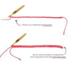 Chaqueta de Crochet Burbujitas para niña [ Tutorial y Patrón GRATIS ] Beginner Knitting Projects, Knitting Videos, Knitting For Kids, Knitting For Beginners, Knitting Stitches, Baby Knitting, Knitting Patterns, Crochet Patterns, Gilet Crochet