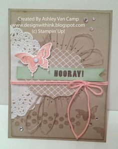 Stampin' Up! Convention 2014 Display Boards - Kinda Eclectic - Ashley Van Camp, Design With Ink