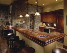 Cool Man Cave Designs Compiled by H. Camille Smith : Bagby Bar By Man Cave Design Ideas