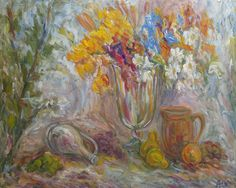 May: Autumn Still Life by Alexandr Rapaport. The eCard can be accessed at http://support.mymsaa.org/site/Ecard?ecard_id=1941. For more information on the artist and to view more pieces, please visit http://mymsaa.org/artshowcase2013/aom/.