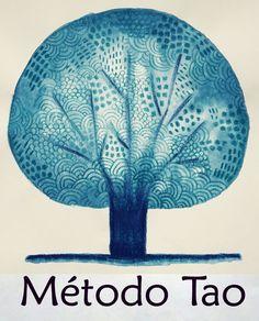 Logo del Método Tao con ilustración de Anne Decis. Tao, Hand Fan, Home Appliances, Drawings, House Appliances, Hand Fans, Appliances, Fan
