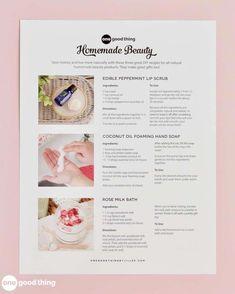 Homemade Beauty Products #HomemadeBlush Homemade Moisturizer, Face Scrub Homemade, Homemade Skin Care, Homemade Beauty Products, Natural Products, Homemade Blush, Beauty Kit, Diy Beauty, Beauty Tricks