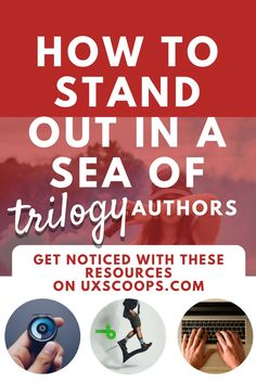 Digital strategies to stand out in a sea of Trilogy authors, creative social media digital marketing content ideas and resources