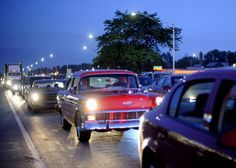 The Woodward Dream Cruise, Detroit, MI -- so very much fun for car enthusiasts.