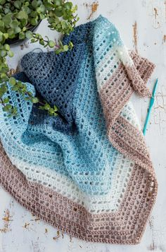 Crochet Wishing Well Wrap 2019 Crochet an easy lacy wrap with self striping yarn no color changes! This shawl works up quick with my video tutorial and free pattern. The post Crochet Wishing Well Wrap 2019 appeared first on Scarves Diy. Poncho Au Crochet, Crochet Prayer Shawls, Crochet Wrap Pattern, Crochet Shawls And Wraps, Crochet Blanket Patterns, Crochet Scarves, Crochet Stitches, Knit Crochet, Crochet Hats