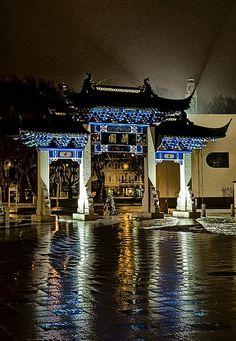 Bill ✔️ The Chinese Garden, Dunedin, New Zealand, Bill Gibson-Patmore. The Beautiful Country, Beautiful World, Beautiful Places, Places Around The World, Around The Worlds, Long White Cloud, New Zealand South Island, Wedding Venue Inspiration, Chinese Garden