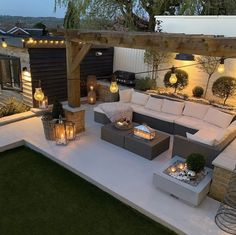 Outdoor Seating Areas, Garden Seating, Outdoor Spaces, Outdoor Living, Outdoor Decor, Backyard Patio Designs, Backyard Landscaping, Back Garden Design, House