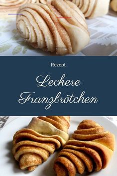 [Rezept] Franzbrötchen against the gray rain – Cupcake Recipes Donut Recipes, Cupcake Recipes, Bread Recipes, Crockpot Recipes, Food Cakes, Marzipan, Bread Baking, Cake Cookies, Cooking Time