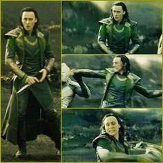 Loki Thor The Dark World screencaps