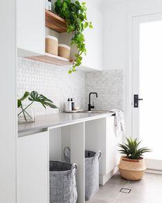 Bathroom Interior, Interior Design Living Room, Living Room Designs, Interior Modern, Bathroom Ideas, Living Rooms, Laundry Doors, Laundry In Bathroom, Small Laundry