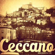 Ceccano, Frosinone, Italy. My ancestors are fron this exact spot, no kidding. I couldn't be more proud<33