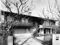 House at Kugayama 1966|久我山の家 断面 吉村順三