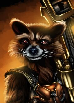 rocket guardians of the galaxy drawing - Google Search ...