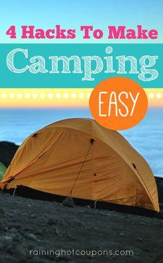 4 Camping Hacks To Make Camping Easy!