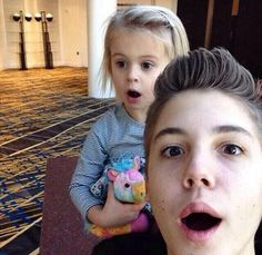 Matt and Skylynn (Nash's sister) they look like they should be brother and sister! Right, i mean the eyes the hair the everything! But i know nash is her brother but i cant help but think they should be bro and sis!