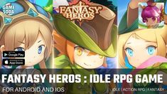 Fantasy Heroes : Idle RPG Game Gameplay | Idle RPG | Gamesoda - YouTube Rpg Games For Android, Free Mobile Games, Fantasy Heroes, Google Play, Action, App, Adventure, Youtube, Group Action