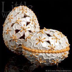 Huevos de Primavera (galletas 3D)   Spring eggs (3D cookies)