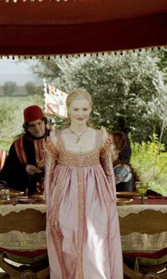Holiday Granger as Lucrezia Borgia in The Borgias.