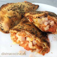 Empanadillas de pizza < Divina Cocina