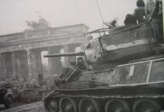 85 Soviet Tank Photo: Mesh screened 85 in front of the Brandenburg Gate in Berlin. This Photo was uploaded by T 34 85, Ww2 Pictures, Berlin City, Brandenburg Gate, Tank Destroyer, Ww2 Tanks, Red Army, German Army, Panzer