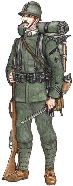 Regio Esercito - Fante, 1915